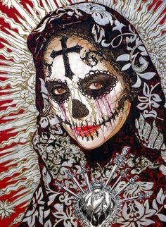 'The Word, The Flesh Y La Santa Muerte' by George Yepes