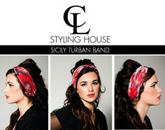 CL New Collection Summer Range SICILY TURBAN BAND Photography : Roche Permal Photography Assistant : Paul Bransby Model : Lola Lourens Makeup, Styling & Art Direction : Tara - Lee Delport #CL #TURBAN #summer #chic #sicily #turban #headband #CLSTLYINGHOUSE #fashion #style #trends #capetown #SouthAfrica Band Photography, Summer Chic, Turbans, Sicily, Cl, Art Direction, Headbands, Range, Trends