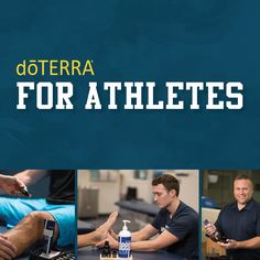 In the world of sports, essential oils have many benefits for athletes Get these oils at www.mydoTERRA.com/denisevalle