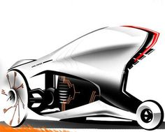 The 'Opel Ewol' is Designed to Run on Solar & Kinetic Energy trendhunter.com