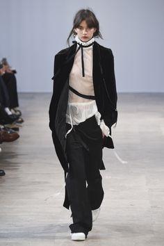 Ann Demeulemeester - Fall 2017 Menswear
