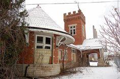 Abandoned Train Depot - Lansing, Michigan