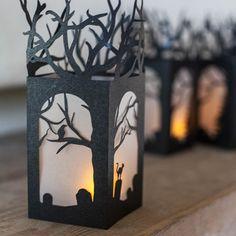 DIY Paper Lanterns for Halloween – Scrap Booking