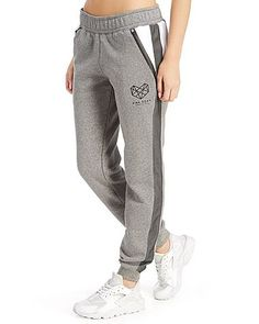 Need something to throw on after your fitness fix? These Panel Joggers from Pink Soda Sport are relaxation must-haves, chic essentials that show off their dedication to healthy living and looking good. Made from supremely soft cotton, the brushed back fleece feels great against the skin, while the heat sealed zip pockets give you room for your phone and keys. Bungee drawcords with added Pink Soda flair to the adjusters deliver custom comfort, while the mixed fabric cut and dew panels add…