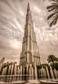 Burj Khalifa - Dubai by NukoLand-PhotoGraphy