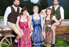 Dirndl and Lederhosen 2014