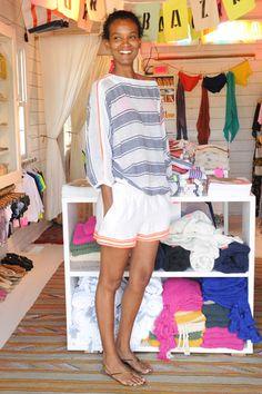 Liya Kebede in Lemlem Best Dressed Celebrities Week of June 22nd, 2012 - Red Carpet Photos June 2012 - Harper's BAZAAR