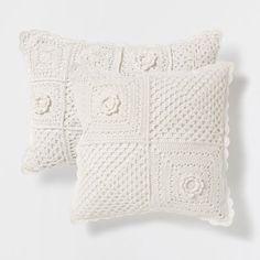 Coj n punto crochet zara home casa y cojines - Cojines cama zara home ...