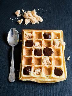 1, 2, 3, Gaufres zum Frühstück (Waffeln) backen brot fruehstueck kekse-platzchen rezepte nachspeisen snacks-und-kleine-gerichte vesper Französisch Kochen by Aurélie Bastian
