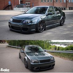 Beautiful Jetta Owner: @yaboybakes #LowerThanMost #low #slammed #stance #camber…