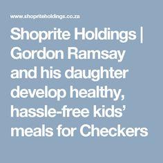 Checkers | Oh My Goodness | Gordon Ramsay & his Daughter Matilda