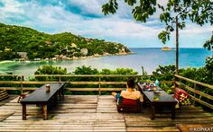 Koh Tao, Thailand - NEW HEAVEN RESTAURANT @SHARK BAY