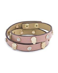 The Blushing Bones Bracelet by JewelMint.com, $29.99
