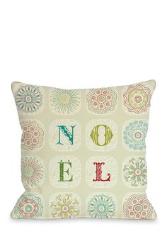 Boho Noel Zippered Pillow - Ivory/Multi on @HauteLook
