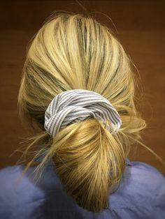 Scrunchie Hair Pferdeschwanzhalter Krawatte Elastic Bobble Bun Tierhaar M2H9