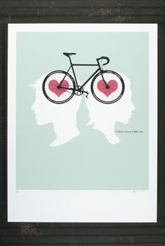 bike love - cute!