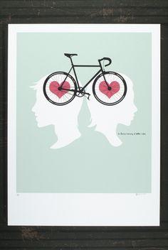 bike love - cute!