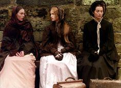 """Isabelle  Adjani, Isabelle  Huppert ' Marie-France Pisier - """"Les Soeurs  Bronte"""" (1979) - Costume  designer : Christian  Gasc"""