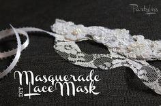 PARTYLISS: DIY Lace Mask