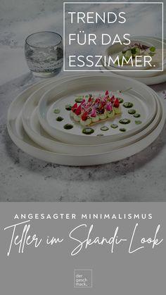 Nordic Interior, Teller, Trends, Tableware, Super, Nordic Design, Minimalist Design, Minimalism, Dining Rooms