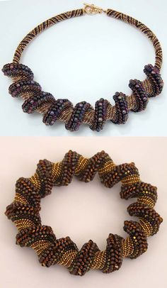 Beaded Jewelry Artwork by Madelyn Ricks featured Eye-Candy / Inspiration in Sova-Enterprises.com Newsletter!