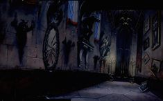 Beauty and the Beast - background cel. Cartoon Background, Animation Background, Art Background, Beauty And The Beast Art, Beauty And The Best, Animation Film, Disney Animation, Environment Painting, Environment Design