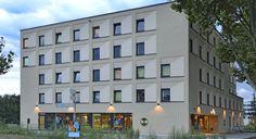 Außenansicht des B&B Hotels #Karlsruhe