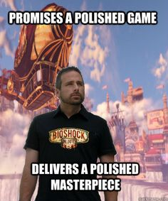 Scroll2Lol.com - Good Guy Ken Levine Bioshock, Irrational Games, A Good Man, Cool Pictures, Video Games, Guys, Videogames, Video Game