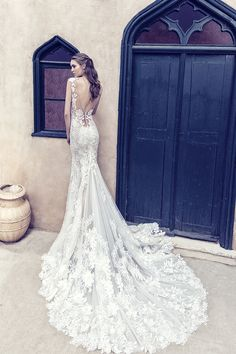 A new era begins for Costantino, with two new members joining the designing team. With Fay and Marianna,. Mermaid Wedding, Lace Wedding, Wedding Dresses, Campaign, Celestial, Bride, Collection, Design, Fashion