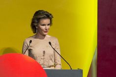 Queen Mathilde attended the opening ceremony of the Business of Design Week (BODW) in Hong Kong