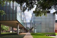 Лабораторный корпус Университета Райса, США