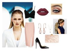 """summer"" by aysegulayhan ❤ liked on Polyvore featuring MISCHA, C/MEO COLLECTIVE, Christian Louboutin, Edie Parker, Michael Kors and Lime Crime"