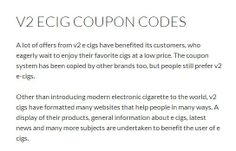 We stock all kinds of e-cigs at competitive prices.