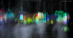 LIGHTPAINTINGS AND PHYSIQUES :: by Markus Schroll. Friom the series :: Lights and Ghosts.