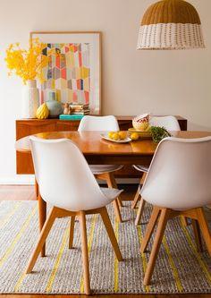 我們看到了。我們是生活@家。: 飯廳是家裡相聚的中心,澳洲的Rebecca用一些溫暖的佈置改造