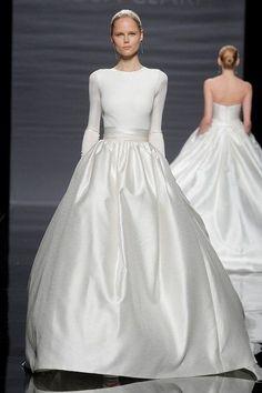 Gown. Bride. Minimal. Fashion. Dress.