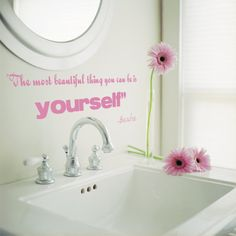 """""""The most beautiful thing you can be is yourself."""" -Barbie"""