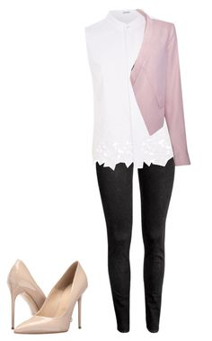 """""""Untitled #16"""" by beata-apanasewicz on Polyvore featuring Elie Tahari, Massimo Matteo and BCBGMAXAZRIA"""