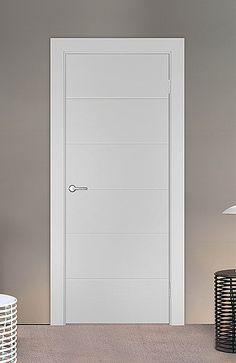 Межкомнатная дверь «Лофт». Отделка «нежно-белая эмаль» #дверирулес #двери…