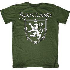 Pretty cool Crest... First Amendment Tee Co. - Scotland Lion Crest T-Shirt , $21.00 (http://www.fat-tee.com/fashion-t-shirts/mens-fashion-t-shirts/scotland-lion-crest-t-shirt/)