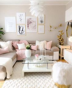 Can we talk about how pretty this living room is? Can we talk about how pretty this living room is? The post Can we talk about how pretty this living room is? appeared first on Wohnzimmer ideen. Pink Living Room, Apartment Living Room, Living Room Scandinavian, Home Decor, Apartment Decor, Living Room Grey, Living Decor, Scandinavian Design Living Room, Living Room Designs