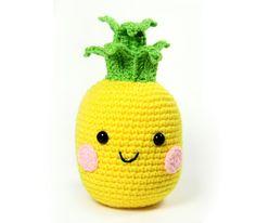 PATTERN: Pineapple Amigurumi Crochet Pattern - PDF Digital Download