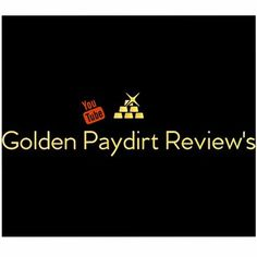 Golden Paydirt Reviews Gold Paydirt, Bucket, Youtube, Movies, Movie Posters, Films, Film Poster, Buckets, Popcorn Posters