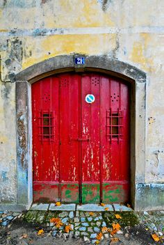 Guimaraes Portugal Door 2 | Flickr - Photo Sharing!❤️