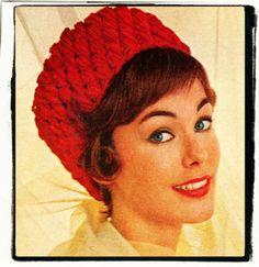 Crochet+Pattern+for+Pill   ... CROCHET PATTERN to make a Chunky Retro Pill Box Hat Puff Stitch Quick