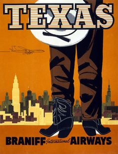 Texas: Braniff International Airways – Vintagraph