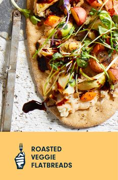 Balsamic glaze is the perfect finishing touch for these flatbreads. When making it, watch carefully at the end so it doesn't scorch. To learn how to put together tasty flatbreads with ingredients you have on hand, check out our guide for How to Make the Best Vegan Pizza. Plant Based Eating, Plant Based Diet, Plant Based Recipes, Vegan Casserole, Cooking Courses, Loaded Baked Potatoes, Balsamic Glaze, Vegan Pizza, Food Science
