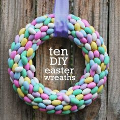 10 DIY Easter Wreaths