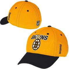 Boston Bruins Reebok Second Season Flex Hat – Gold