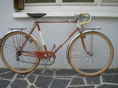 MOTOBECANE THC 650B french randonneur  bicycle 1958 bicycle Simplex, Lefol,